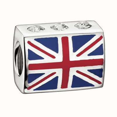 Chamilia de swarovski collectie - union jack - crystal 2083-00 2083-0059