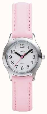 Timex Vrouwen / kinderen roze riem horloge T79081
