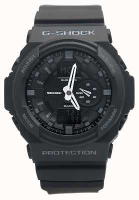 Casio Mens G-SHOCK zwarte chronograaf GA-150-1AER