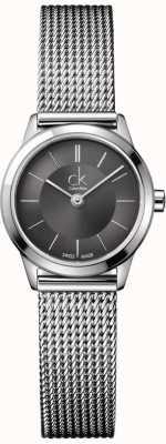Calvin Klein Dames roestvrij stalen armband met touw patronen K3M23124