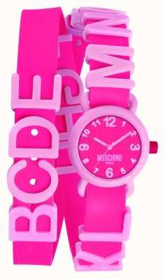 Moschino Ladies bruisende roze horloge MW0327