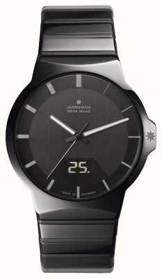 Junghans Force heren zwarte keramische horloge 018/1133.44