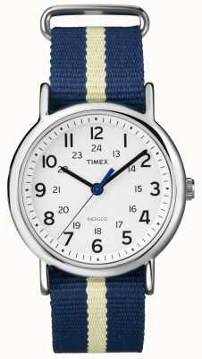 Timex Unisex indiglo weekender horloge T2P142