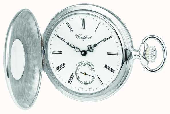 Woodford | halve jager | sterling zilver | zakhorloge | 1004