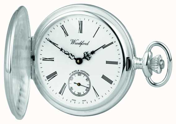 Woodford Silver hunter zakhorloge 1064