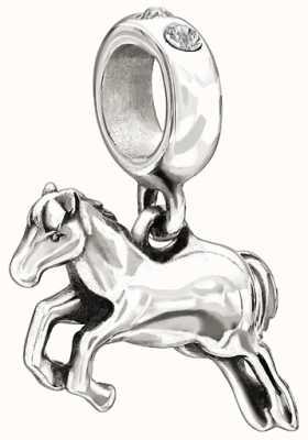 Chamilia Sterling zilveren w stone - horse - duidelijke swarovski 2025-1010