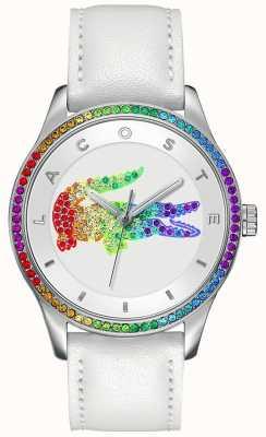 Lacoste Victoria multicolour wit horloge 2000822