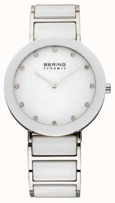 Bering Keramische en metalen armband horloge 11435-754