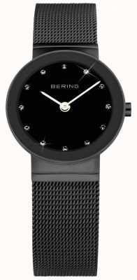 Bering Dames roestvrij staal quartz analoog horloge 10126-077