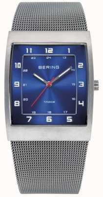 Bering Gents roestvrij staal quartz analoog horloge 11233-078