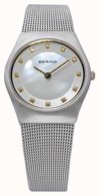 Bering Dames roestvrij staal quartz analoog horloge 11927-004
