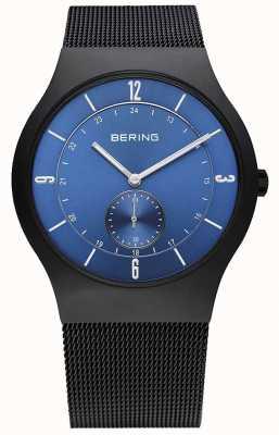 Bering Gents roestvrij staal quartz analoog horloge 11940-227
