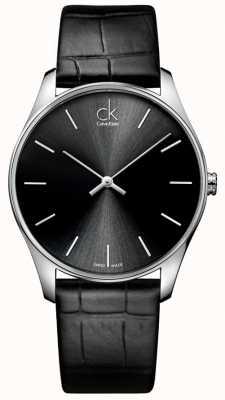 Calvin Klein Heren klassieke zwarte horloge K4D211C1