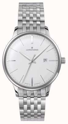Junghans Meister dameskwarts zilveren armband 047/4372.44