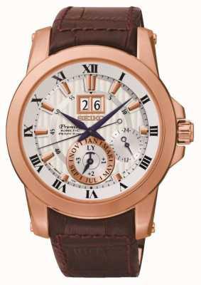 Seiko Mens premier kinetische horloge SNP096P1
