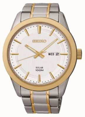 Seiko Heren dag / datumaanduiding horloge SNE364P1