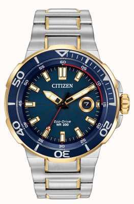 Citizen Mens streven Eco-Drive horloge AW1424-54L