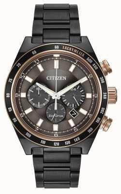 Citizen Gunmetal Eco-Drive horloge CA4207-53H