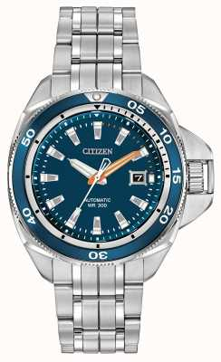 Citizen Automatisch grand touring signature roestvrij staal NB1031-53L