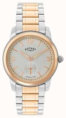 Rotary | cambridge heren tweekleurig horloge | GB02701/01