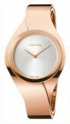 Calvin Klein Womens rose gouden horloge K5N2S626