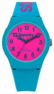 Superdry Urban wintertaling siliconen band horloge SYG164AUP