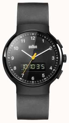 Braun Gent zwarte klassieke ana-digi horloge BN0159BKBKG