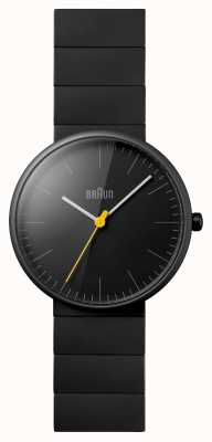 Braun Unisex zwarte keramische jurk horloge BN0171BKBKG