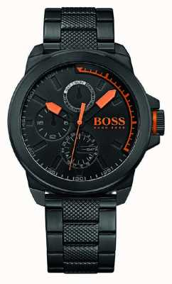 Hugo Boss Orange Gents zwart ip zwarte wijzerplaat 1513157