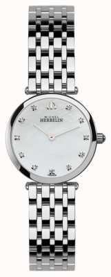 Michel Herbelin Ladies roestvrijstalen epsilon horloge 1045/B59