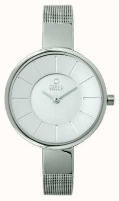 Obaku Ladies roestvrijstalen gaas armband V149LXCIMC