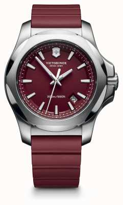Victorinox Swiss Army Inox rode rubberen band mens 241719.1