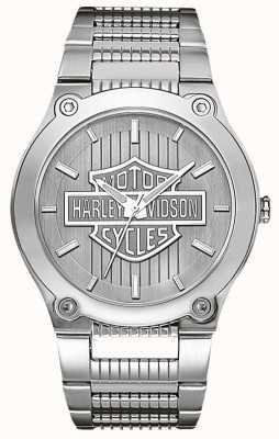 Harley Davidson Roestvrij staal met lichtgevende wijzers 76A134