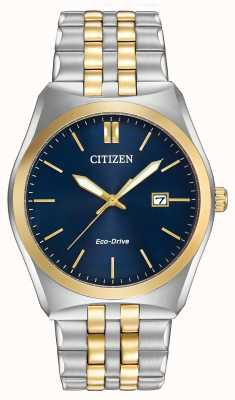 Citizen Gents eco-rijden corso WR100 two tone BM7334-58L
