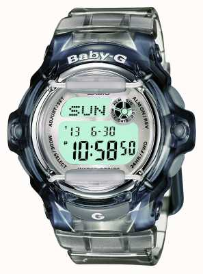 Casio Dames baby-g transparant digitaal BG-169R-8ER