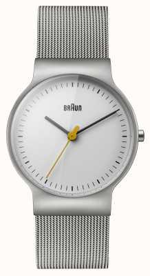 Braun Womens klassieke lijn mesh armband BN0211WHSLMHL