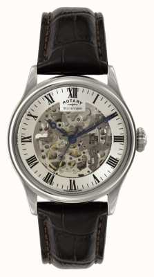 Rotary Mens skeleton auto leder GS02940/06