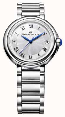 Maurice Lacroix Dames fiaba 28mm ronde roestvrij staal FA1004-SS002-110-1