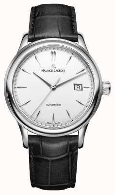 Maurice Lacroix Heren les classiques automatisch zilveren wijzerplaat horloge met datum LC6098-SS001-130-1