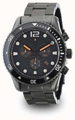 Elliot Brown Mens Bloxworth gun metal vergulde grijze wijzerplaat 929-004-B05