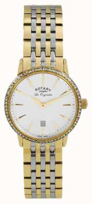 Rotary Womens les originales goud pvd verguld LB90056/01
