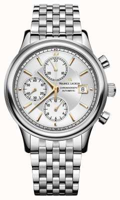 Maurice Lacroix Chronograph automatische datum roestvrij staal LC6158-SS002-130-1