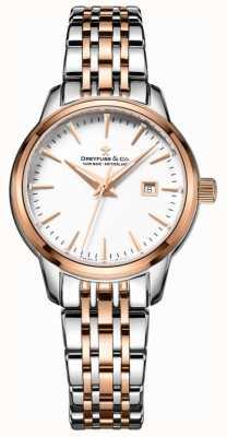 Dreyfuss Ladies utilitaire horloge 1890 DLB00127/02