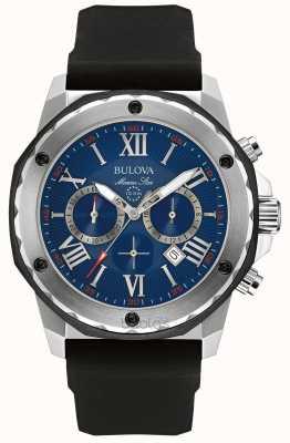 Bulova Marine ster blauwe wijzerplaat 98B258