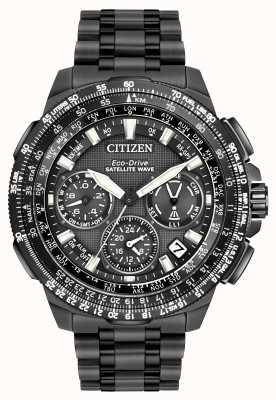Citizen Promaster navihawk gps zwart super titanium CC9025-85E