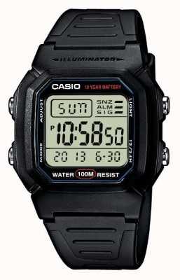 Casio Sportartikelen alarm chronograaf W-800H-1AVES