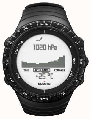 Suunto Core regelmatig zwart SS014809000