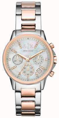 Armani Exchange Horloge met twee chronograafhorloges AX4331