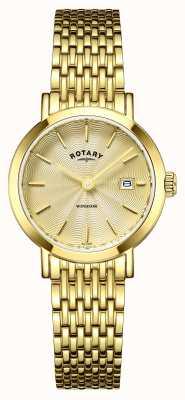 Rotary Ladies uurwerken Windsor verguld LB05303/03