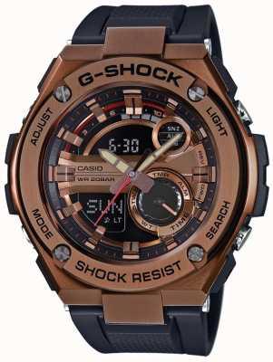 Casio G-staal G-SHOCK vergulde geval GST-210B-4AER